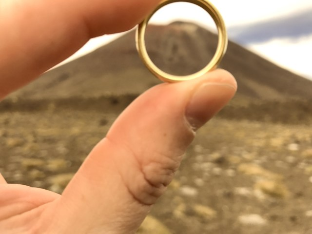 We bring the One Ring to Mount Doom