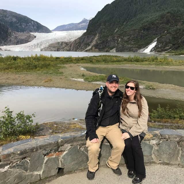 Mendenhall Glacier near Juneau, Alaska