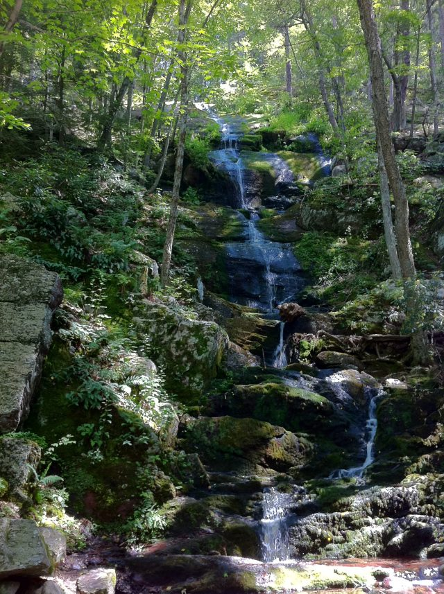 Buttermilk Falls.