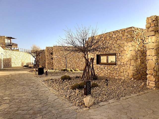 A room at the Beresheet Hotel in Mitzpe Ramon