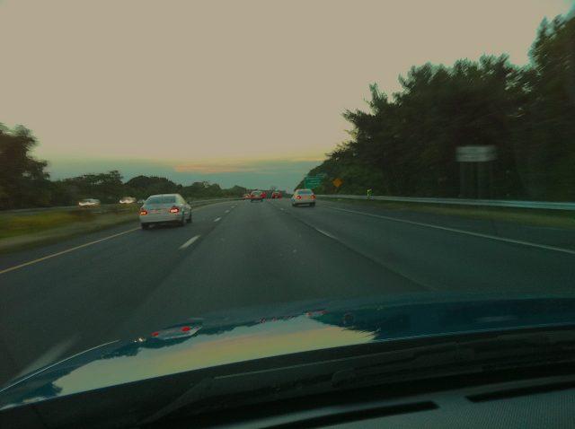 West on I-78