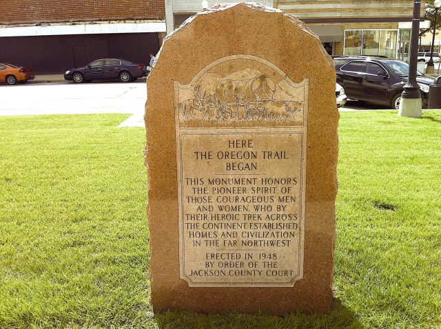 Starting point of the Oregon Trail