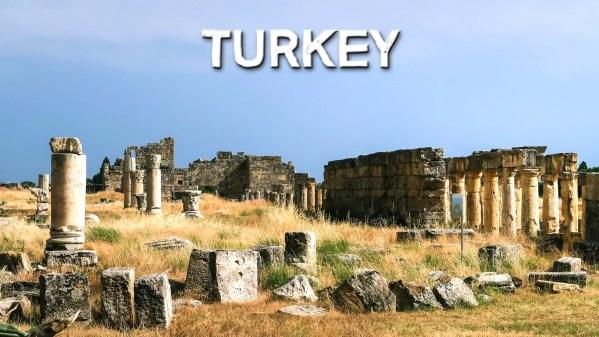 Hierapolis Pamukkale, Turkey