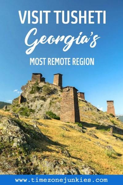 Georgia's most remote region