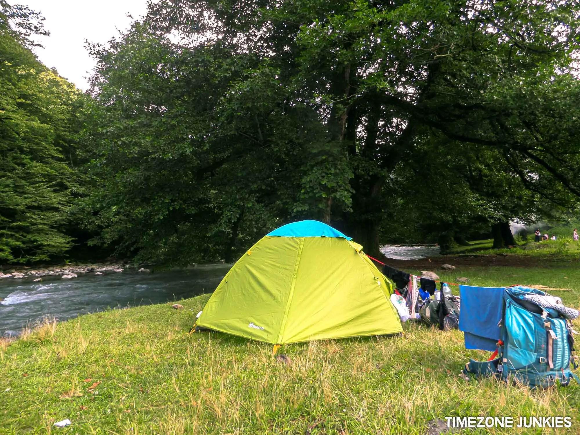 where to camp in georgia camping spot