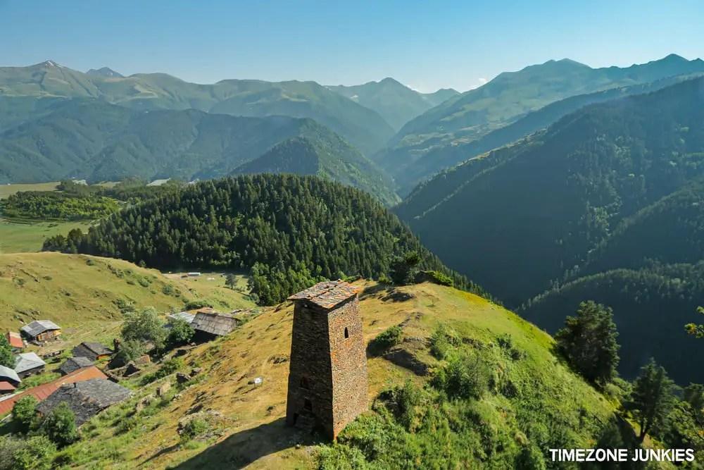 towers of tusheti