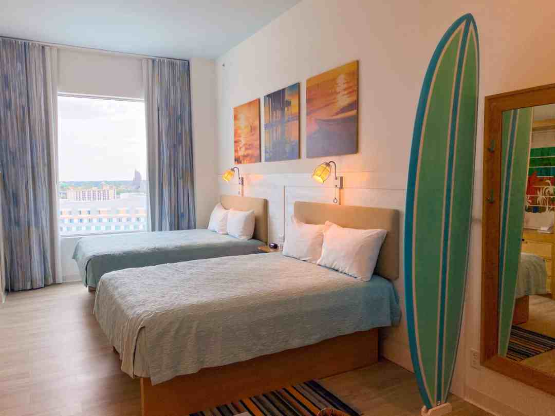 Room tour of endless summer resort two bedroom