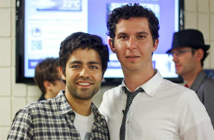 Adrian Grenier and Dave Lawrence