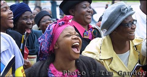 black ladies laughing