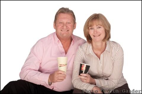 Martin and Sarah Killian of Hilton Vending, Wiltshire