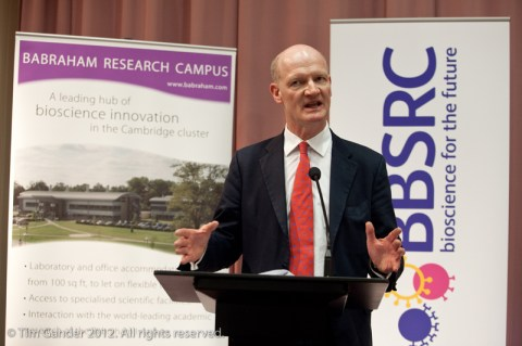 David Willetts MP at Babraham Institute near Oxford explains why he feels scientific research is so vital to the UK economy