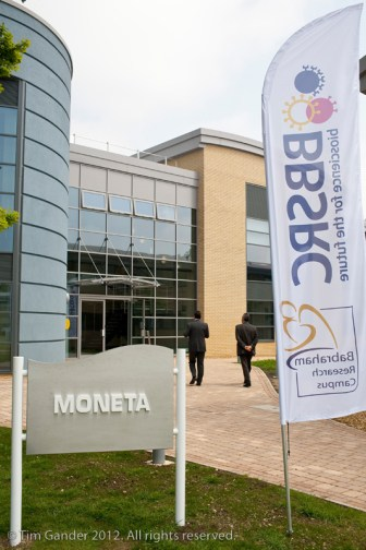 Exterior of Moneta building, Babraham Institute, Oxford, England