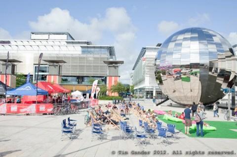 Millennium Square, Bristol, Triathlon England sporting event