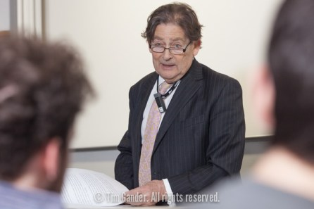 Lord Nigel Lawson delivers his views on climate change at University of Bath