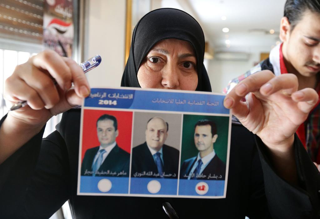 SYRIA-CONFLICT-POLITICS-VOTE