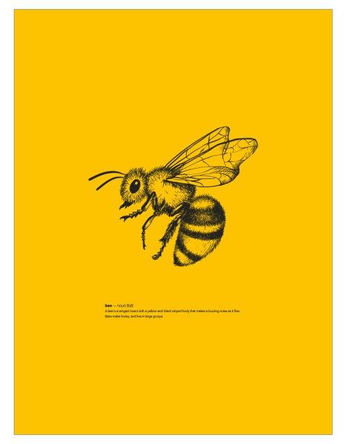 timhenning-bee-II-30x40cm-yellow