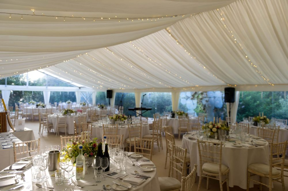 Roux Two Dinner marquee