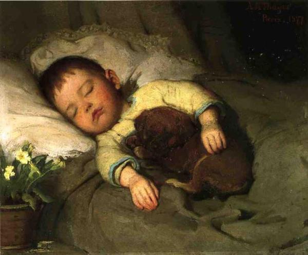 Sleep by Abbott Handerson Thayer