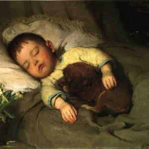 Sleep by Abbott Handerson Thayer
