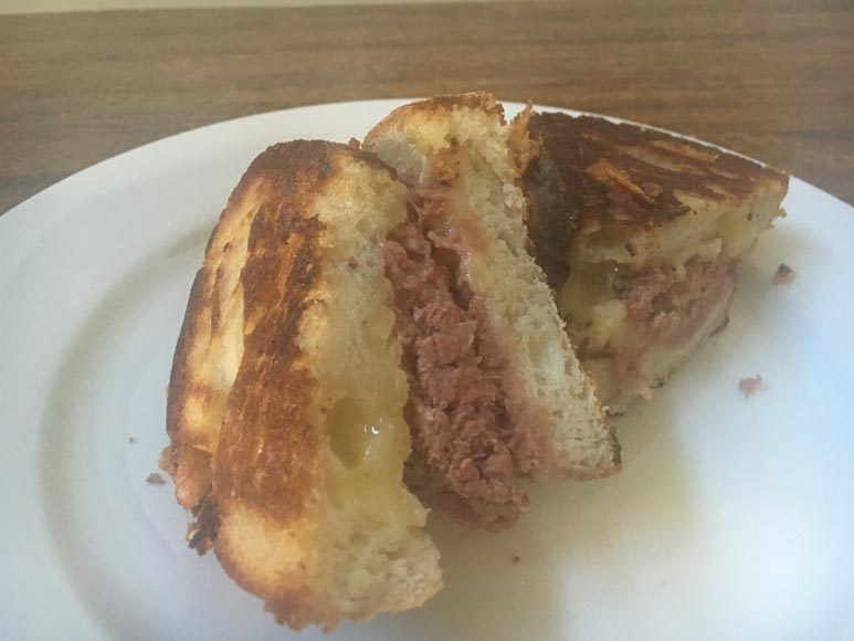 Corned beef and cheese