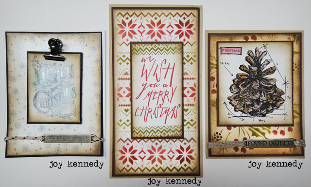 New 2014 Products Stampers Anonymous Tim Holtz