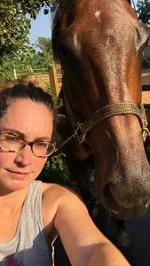 Overheated equestrian