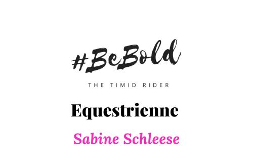 Equestrienne Spotlight Sabine Schleese