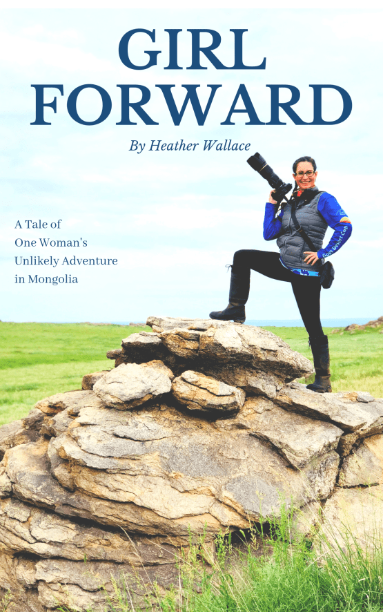 Girl Forward Book Heather Wallace Cover