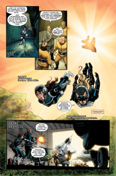 Agents of Shield #1 4