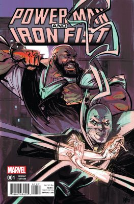 Power Man and Iron Fist #1 Cover 2