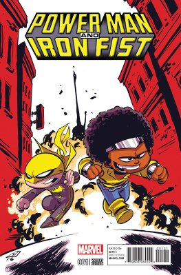 Power Man and Iron Fist #1 Cover 3