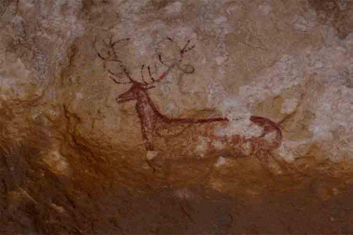 Arte rupestre en el Parque Nacional de Ordesa