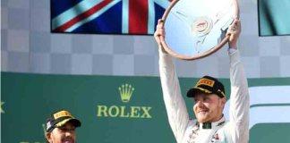 Bottas domina el Gran Premio de Australia