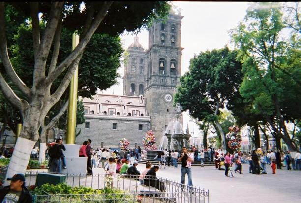 The Puebla Cathedral