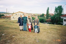 outside the village