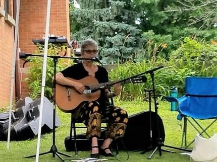 Playing at Summit worship service 7/3/16