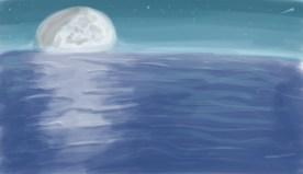Surreal Moonrise
