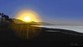 Santa Barbara, Ca Sunrise