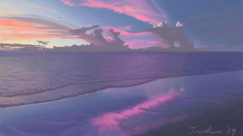 Austrailian Beachside Sunset