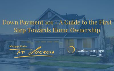 Down Payment 101 – A Guide to the First Step Towards Home Ownership