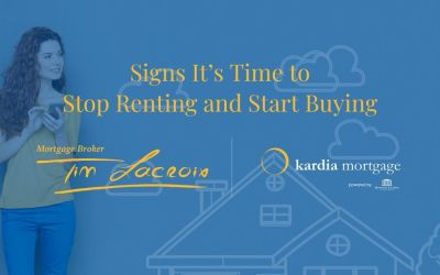 Signs It's Time to Stop Renting and Start Buying