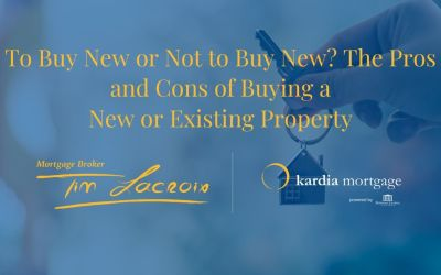 To Buy New or Not to Buy New? The Pros and Cons of Buying a New or Existing Property