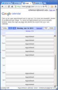 Appointment Image