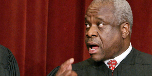 Justice Clarence Thomas Sees Shadow