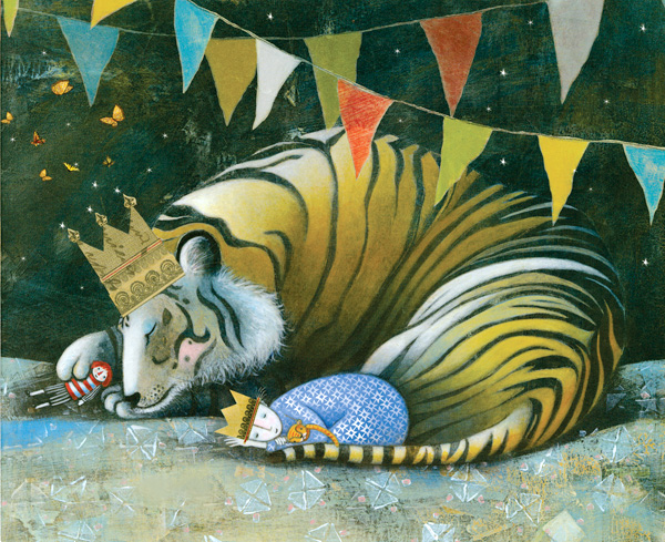 Sleep Like a Tiger by Mary Logue and Pamela Zagarenski