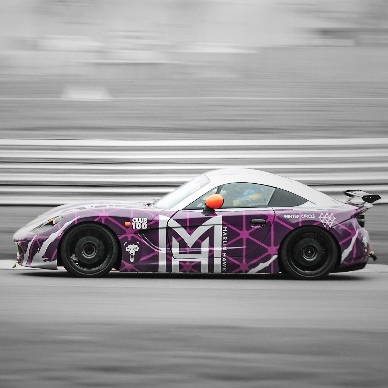 Race Car Wrap Design