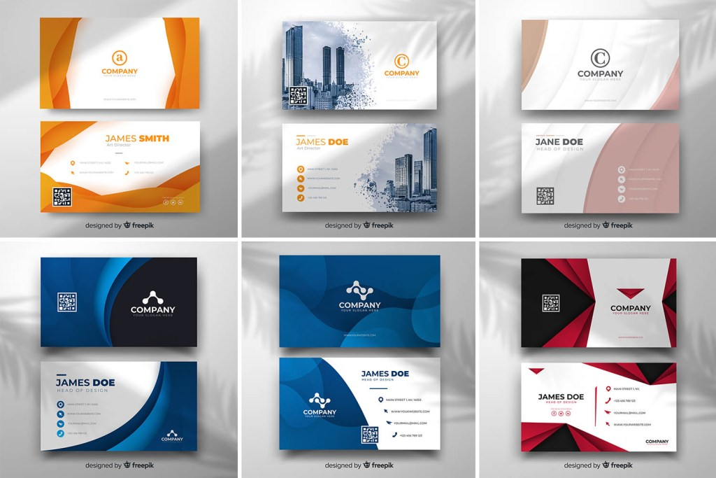 free modern business card templates