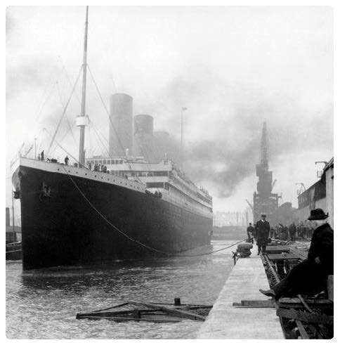 Titanic fastest ship 1912