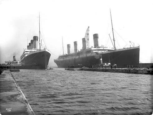 Titanic largest ship 1912