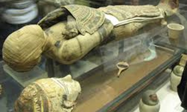 Titanic Mummy's curse